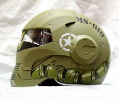 Luusama Motorcycle And Helmet Blog News: Masei 610 Gundam Zaku Looking US Stormtrooper Motorcycle DOT Arai Harley Davidson Helmet
