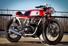 M Customs Honda CB550  It's getting harder and harder to impress with a Honda CB custom these days. But this very sharp 1974 CB550, from the Kentucky shop M Customs, proves there's still life in the old dog.  ...