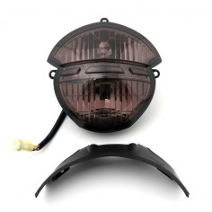 Mad Hornets - Headlight Ducati Monster 659 696 795 796 M1000 Smoke Lens, $ ()