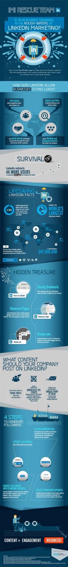 Marketing en Linkedin – Infografia   Infografia - Las mejores infografias de Internet