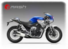 """MASH """"CAFE' RACER"""" 450 on Behance"""