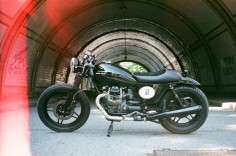 "MC MotorCycle: Introducing ""Aguzza"" - Moto Guzzi V35 ..."
