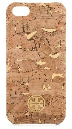 metallic cork iphone 5 case / tory burch