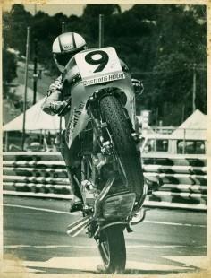 Mike Hailwood. '77 Castrol 6 Hour, Adelaide Aus. Ducati 750SS.