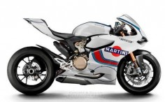 mo Ducati 1199 Panigale Martini Racing