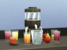 Mod The Sims: Juice Blender by plasticbox • Sims 4 Downloads