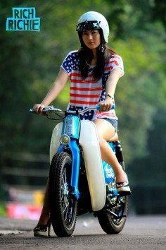 Modifikasi iCub - Honda Street Cub 70 the bike's nice to ?????????????