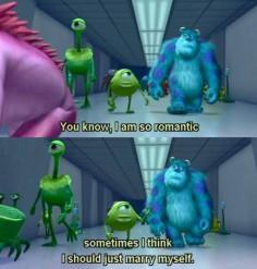 Monsters Inc. Disney Pixar Mike is me