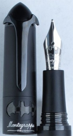 Montegrappa Batman Limited Edition Fountain Pen