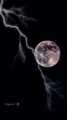Moon Lightening