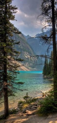 Moraine Lake in Banff National Park, Alberta, Canada. #nature #lake #mountains #canada #energy #life