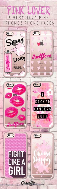 Most must have pink iPhone 6 protective phone case designs | Click through to see more iphone phone case ideas >>>  #quote | @Casetify