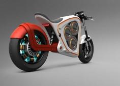 Moto elétrica conceito