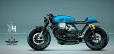 Moto Guzzi 1400 California Café Racer by Radical Guzzi