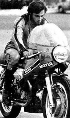 Moto guzzi 850cc of Daniel Uldich