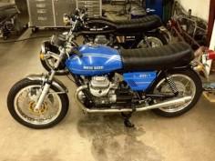 Moto Guzzi 850T - Left Side