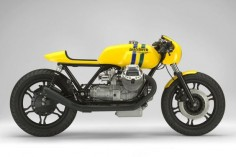 Moto Guzzi Ayrton Senna 20th Anniversary tribute motorcycle by Marcus Walz.