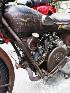 Moto Guzzi bacon-slicer