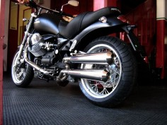 Moto Guzzi Bellagio with Agostini exhaust