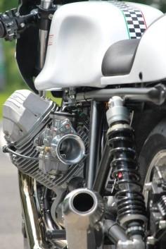 "Moto Guzzi ""Black & White"" by HTMoto"