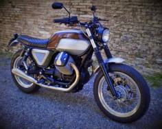 Moto Guzzi Brat Style Brown Sugar by FMW Motorcycles #motorcycles #bratstyle #motos |