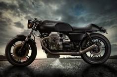 Moto Guzzi Bullet 1000.