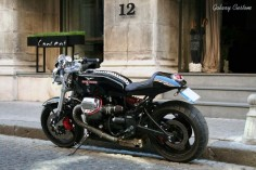Moto Guzzi Cafe Racer by Galaxy Customs