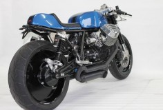"Moto Guzzi Cafe Racer ""Cafe Ristretto"" by Radical Guzzi #motorcycles #caferacer #motos 