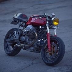 Moto Guzzi Café racer | dropmoto's photo