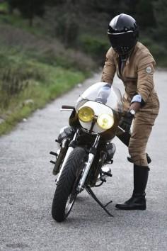 Moto Guzzi Cafe Racer - Ton Up Garage #motorcycles #caferacer #motos |