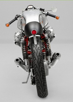 Moto Guzzi #CafeRacer #TonUp