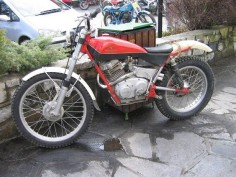 Moto Guzzi Caglio trials bike. Yes Guzzi did one :-)