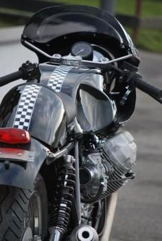 "Moto Guzzi ""Classic Le Mans"" by HTMoto"