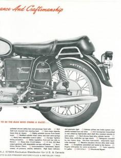 Moto Guzzi Eldorado Factory Brochure, Page 3 of 4.