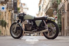Moto Guzzi:: Eroica 1000: Officine Rossopuro. | 8negro