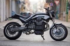 Moto Guzzi Griso 1100 'Calibro 11' by Officine Rossopuro