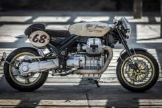Moto Guzzi Griso Cafe Racer by Flavio Vergani #motorcycles #caferacer #motos |