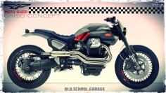 MOTO GUZZI # GRISO # SPECIAL # CONCEPT BIKE # CAFE RACER # MOTORCYCLES RENDERING # STREET TRACKER