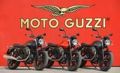Moto Guzzi Heralds 2015 Griso 1200 8V SE and V7 Stone