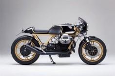 Moto Guzzi Le Mans Motorcycle.