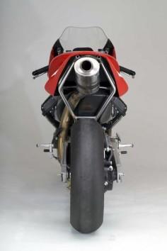 Moto Guzzi MGS-01 Corsa Motorcycle Rear