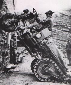 Moto Guzzi Mule, 1965.  #autospeedway #speedway #attractions
