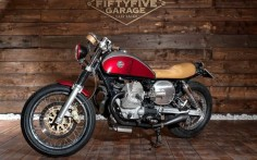 MOTO GUZZI NEVADA 750 'DHARMA' - FIFTYFIVE GARAGE - INAZUMA CAFE RACER PHOTO - FRANCESCO SEMBOLINI PHOTOGRAPHY