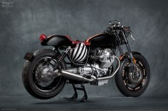 Moto Guzzi Nevada 750, Follet by Mr. Martini