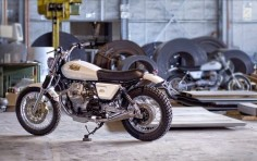 MOTO GUZZI NEVADA 750'S - OFFICINE ROSSOPURO - THE BIKE SHED