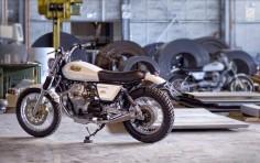 MOTO GUZZI NEVADA 750'S - OFFICINE ROSSOPURO - THE BIKE SHED