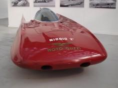 Moto Guzzi Nibbio 2. Moto Guzzi built their own wind tunnel in 1950 to test mororcycle fairings.