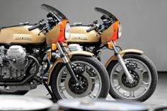 Moto Guzzi - Photo from Motorradonline #motorcycles #caferacer #motos |