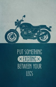Moto Guzzi | Put something exciting between your legs