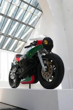 Moto Guzzi Racer | Le Mans IV Cafe Racer #motorcycles #caferacer #motos |
